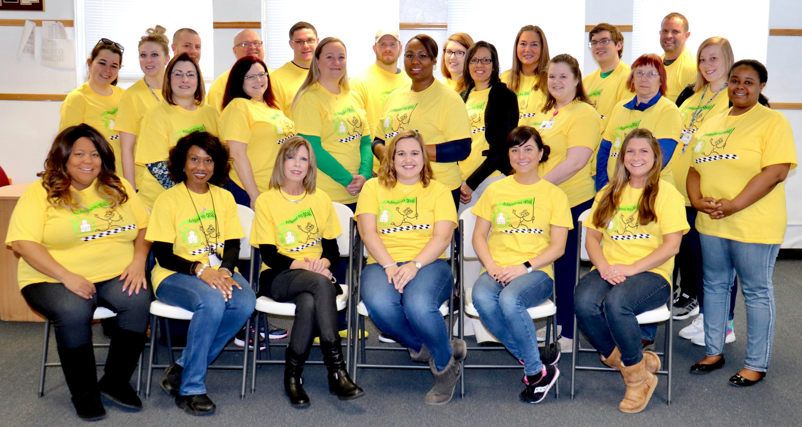 JA Yellow Shirt Staff Picture March 2020